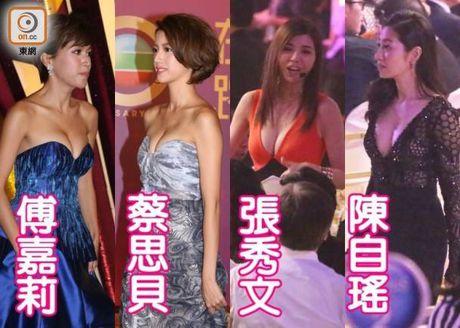 Dan dien vien tre TVB dien mot goi cam tren tham do - Anh 10