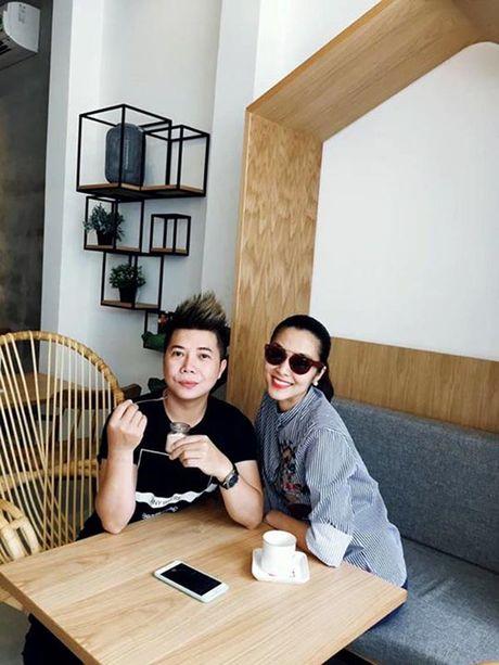 Tang Thanh Ha du su kien giua tin mang bau 6 thang - Anh 1