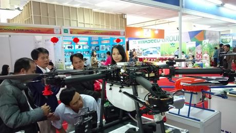 AgroViet 2016: Soi dong may nong nghiep - Anh 1