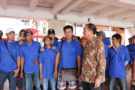 39 ngu dan Viet Nam bi Indonesia bat duoc tra ve nuoc - Anh 1
