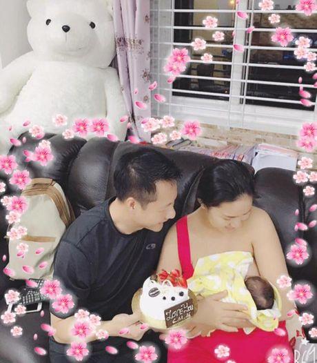 Duoc chong dai gia yeu chieu, Phan Nhu Thao khong lo giau ngoai hinh qua kho sau sinh - Anh 7