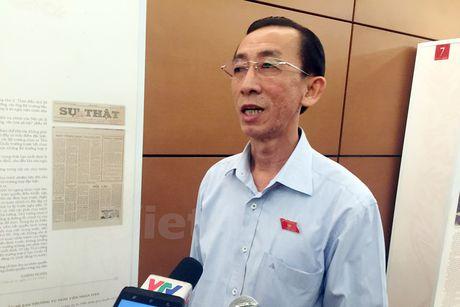 Bo truong Giao duc dang dan lam nong nghi truong Quoc hoi - Anh 1
