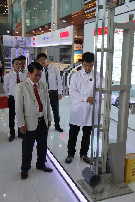 Tham quan nhung gian hang doc dao tai trien lam Quoc te Vietbuild 2016 - Anh 6
