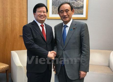 Pho Thu tuong de nghi Nhat tang cuong dau tu truc tiep tai Viet Nam - Anh 1