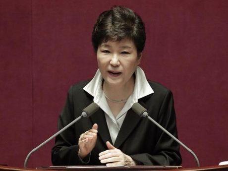 Cong to vien de nghi tham van ba Park Geun-hye ngay tuan nay - Anh 1