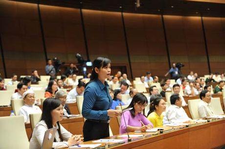 TOAN CANH: Bo truong Tran Hong Ha tra loi chat van - Anh 1
