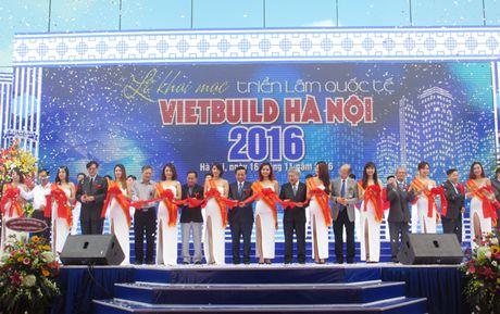Khai mac Trien lam Quoc te Vietbuild Ha Noi 2016 - Anh 1