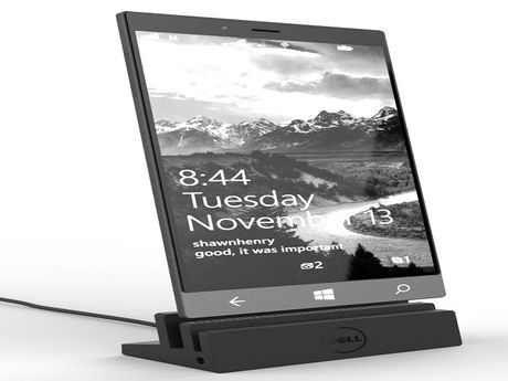 Ro ri anh tuyet dep chiec phablet Dell Stack Windows 10 - Anh 1