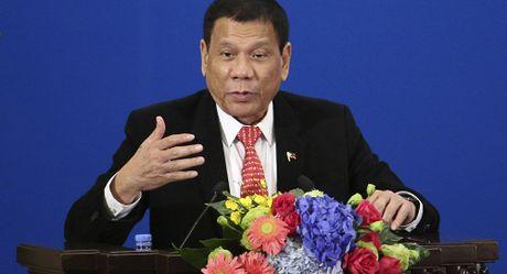 Duterte muon lam ban voi Donald Trump va Putin - Anh 1