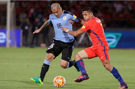 Sanchez lap cu dup, Chile nguoc dong nhan chim Uruguay - Anh 2