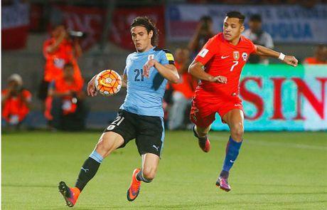 Sanchez lap cu dup, Chile nguoc dong nhan chim Uruguay - Anh 3