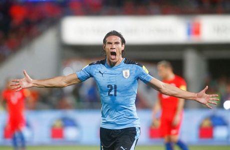Sanchez lap cu dup, Chile nguoc dong nhan chim Uruguay - Anh 4