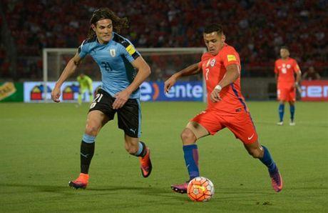 Sanchez lap cu dup, Chile nguoc dong nhan chim Uruguay - Anh 7