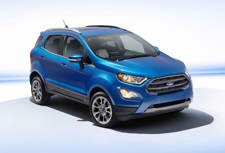 Ford EcoSport ban My 'xin' hon phien ban toan cau - Anh 2