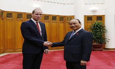 Thu tuong Nguyen Xuan Phuc tiep Hoang tu Anh tai Ha Noi - Anh 1