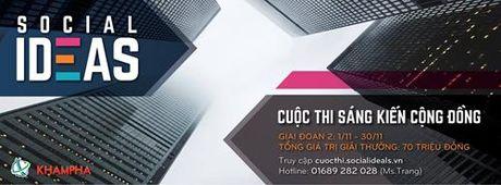 Cuoc thi sang kien cong dong: Lan toa va thiet thuc - Anh 2