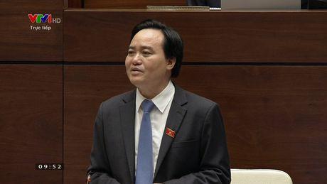 VIDEO: Toan canh Bo truong Phung Xuan Nha tra loi chat van - Anh 1