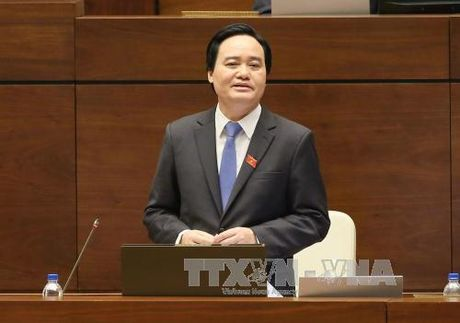 Bo truong Phung Xuan Nha: Khong nen thanh lap truong dai hoc o dia phuong - Anh 1