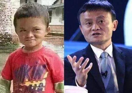 Ty phu Jack Ma cam ket chu cap cho cau be giong het minh - Anh 1
