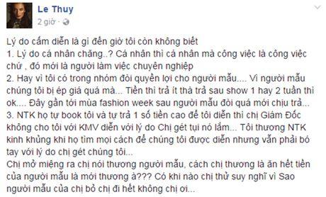Le Thuy, Quynh Chau xac nhan nam trong 'danh sach den' cam dien - Anh 1