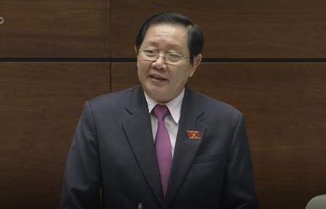Bo truong Noi vu noi xu ly nghiem ong Vu Huy Hoang de canh bao can bo - Anh 1