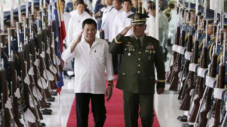 Da len tieng huy bo, Philippines lai thong bao tap tran quan su cung My - Anh 1