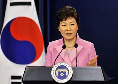 Tong thong Han Quoc Park Geun hye tuyen bo khong tu chuc - Anh 1