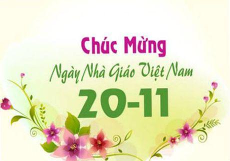 Nhung loi chuc 20/11 hay va y nghia danh tang thay co - Anh 1