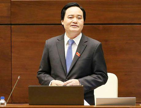 Bo truong Phung Xuan Nha nhan trach nhiem ve nhung ton tai cua giao duc - Anh 1