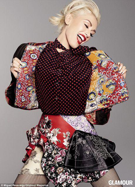 Gwen Stefani lung tran quyen ru trong tiec cua Glamour - Anh 1