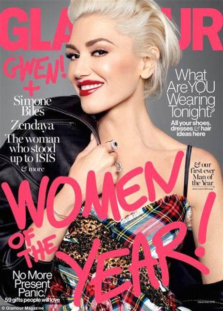 Gwen Stefani lung tran quyen ru trong tiec cua Glamour - Anh 3