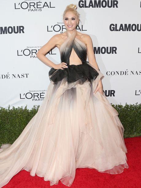 Gwen Stefani lung tran quyen ru trong tiec cua Glamour - Anh 5