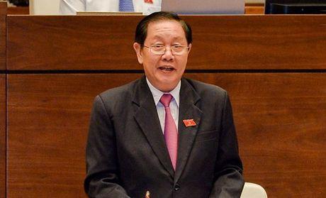 Bo truong Bo Noi vu tra loi viec xu ly nguyen Bo truong Vu Huy Hoang - Anh 1