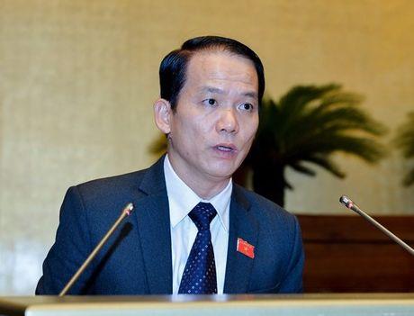 Bo truong Bo Noi vu tra loi viec xu ly nguyen Bo truong Vu Huy Hoang - Anh 2