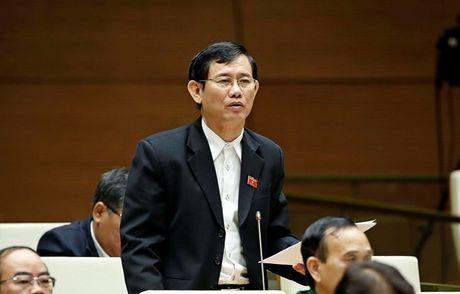 Bo truong Bo Noi vu tra loi viec xu ly nguyen Bo truong Vu Huy Hoang - Anh 3