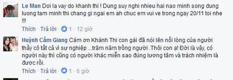 Khanh Thi bat ngo viet 'tam thu' truoc them 20/11 - Anh 3