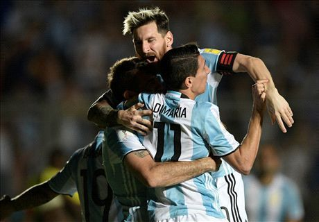 BAN TIN THE THAO: Messi toa sang, Argentina thang tung bung - Anh 1