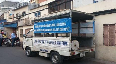 TP.HCM: Vi dau nguoi dan Binh Thanh lai nhiem vi rut Zika nhieu den the? - Anh 1