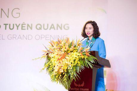 Tuyen Quang don nhan 140 phong khach san tieu chuan 4 sao di vao hoat dong - Anh 2