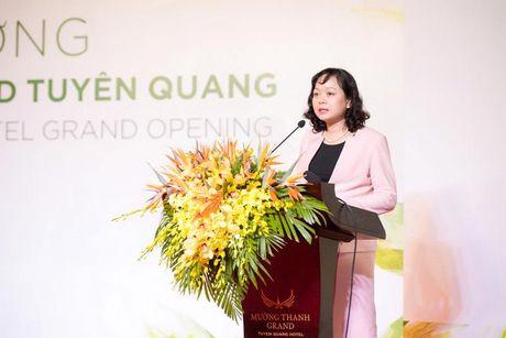 Tuyen Quang don nhan 140 phong khach san tieu chuan 4 sao di vao hoat dong - Anh 4