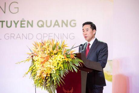 Tuyen Quang don nhan 140 phong khach san tieu chuan 4 sao di vao hoat dong - Anh 5
