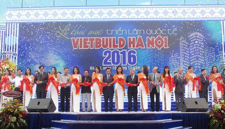 Nhieu gian hang noi bat tai le khai mac Trien lam VietBuild Ha Noi 2016 - Anh 1