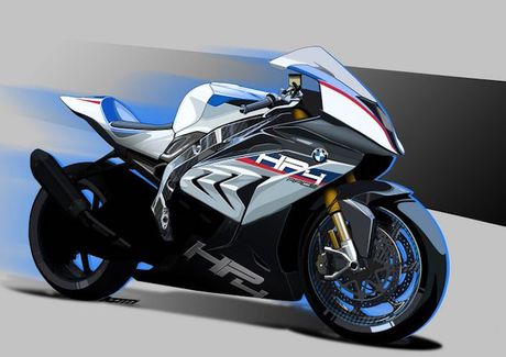 BMW mang sieu moto carbon HP4 dau voi Ducati Superleggera - Anh 2