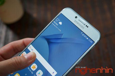 Tren tay Galaxy A8 2016 dau tien Viet Nam gia 9 trieu - Anh 10