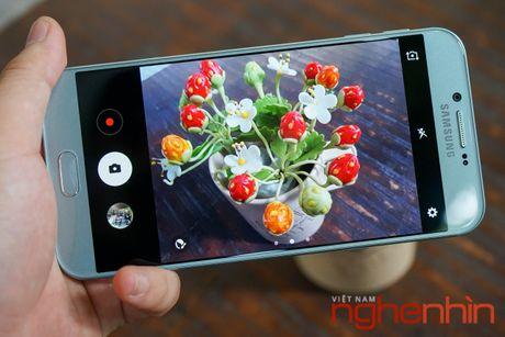 Tren tay Galaxy A8 2016 dau tien Viet Nam gia 9 trieu - Anh 17