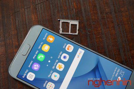 Tren tay Galaxy A8 2016 dau tien Viet Nam gia 9 trieu - Anh 19