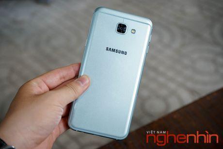 Tren tay Galaxy A8 2016 dau tien Viet Nam gia 9 trieu - Anh 1
