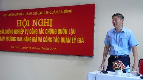 Quan Ba Dinh: Xu ly gan 1.900 vu buon lau, gian lan thuong mai - Anh 1