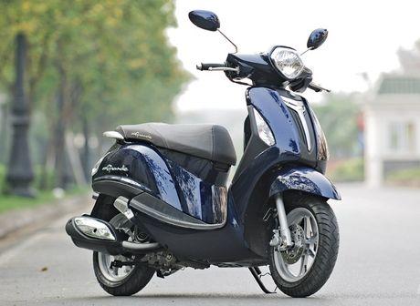 Thu hoi 110.250 xe may Yamaha Nozza Grande - Anh 1