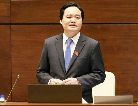 DBQH truy Bo truong Phung Xuan Nha trach nhiem 191.000 sinh vien that nghiep - Anh 1